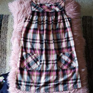 ROXY Plaid Dress